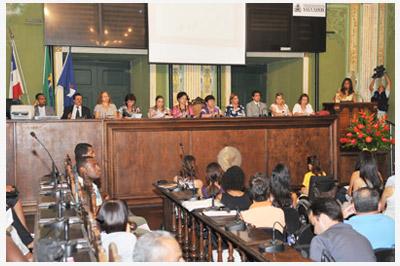 Maria da Penha; lei Maria da Penha; Salvador; Audiência pública