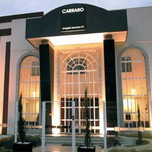 Em Goiânia/GO, o escritório se destaca pelo suntuoso edifício.