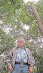 Jayme Vita Roso, dono da única floresta particular da cidade de São Paulo