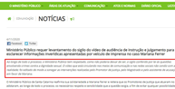 MP/SC diz que vídeo da audiência de Mariana Ferrer foi editado e pede levantamento do sigilo