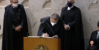 Kassio Nunes Marques toma posse como ministro do STF