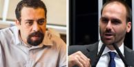 Ministro Fachin suspende julgamento de queixa-crime de Boulos contra Eduardo Bolsonaro por difamação