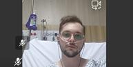 Advogado participa de audiência da cama do hospital após juiz negar adiamento