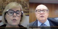 Gilmar e Rosa divergem sobre competência do STF para julgar ações contra CNJ e CNMP
