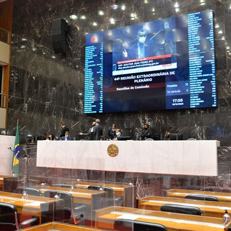 Assembleia Legislativa de MG aprova projeto que revoga auxílio-doença de juízes