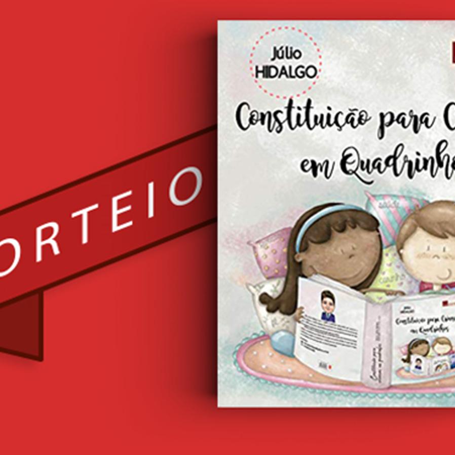 """Resultado do sorteio da obra """"Constituição para Crianças em Quadrinhos"""""""