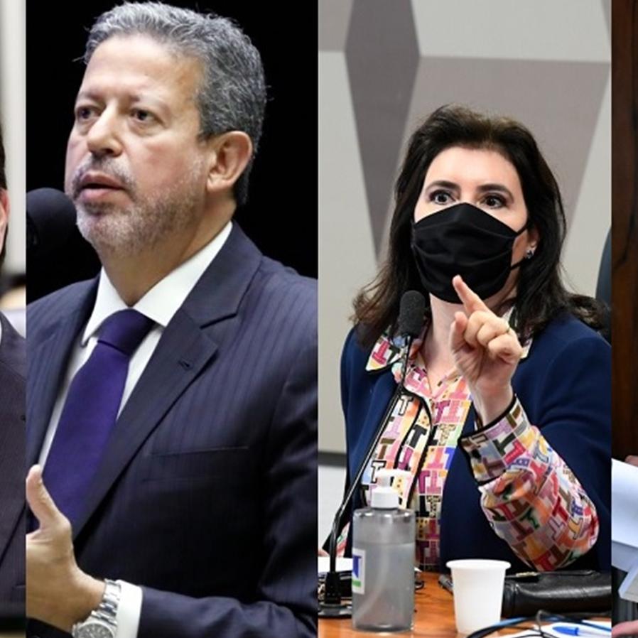 Candidatos às presidências da Câmara e do Senado são formados em Direito
