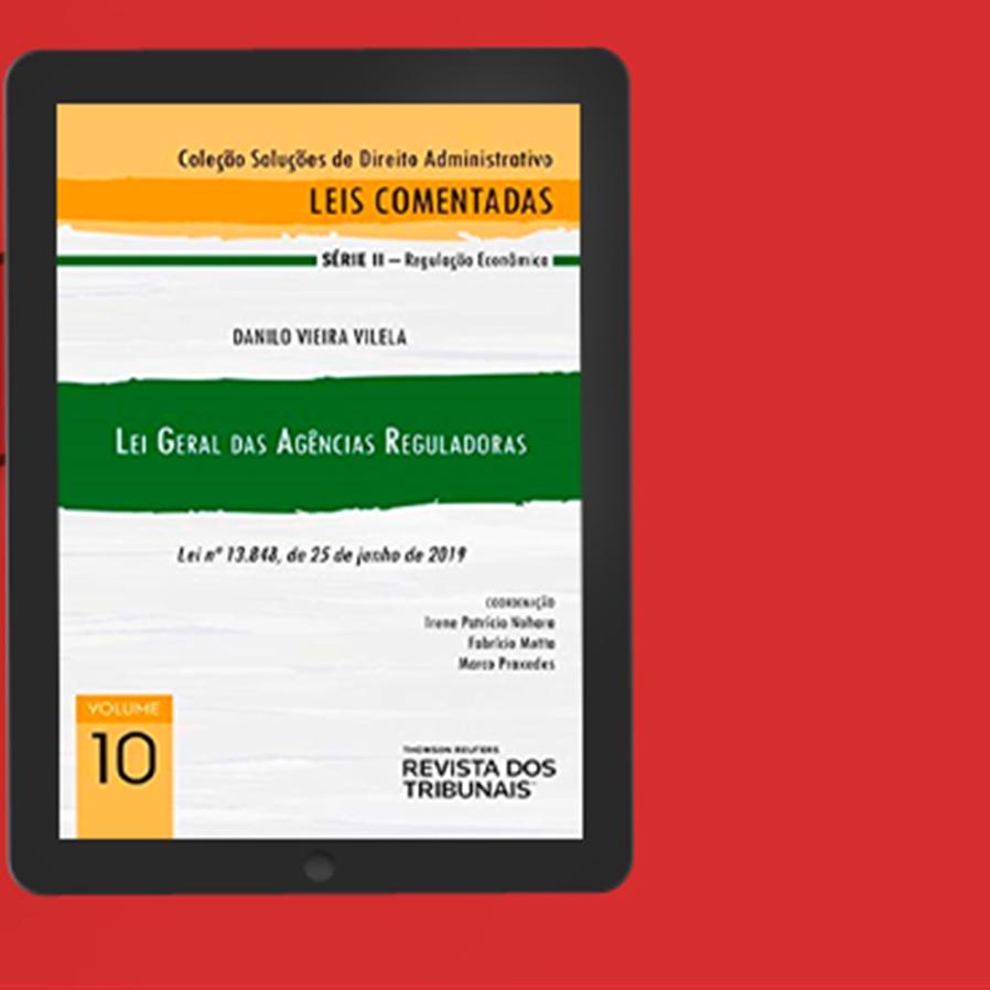 """Resultado do sorteio do e-book """"Lei Geral das Agências Reguladoras"""""""
