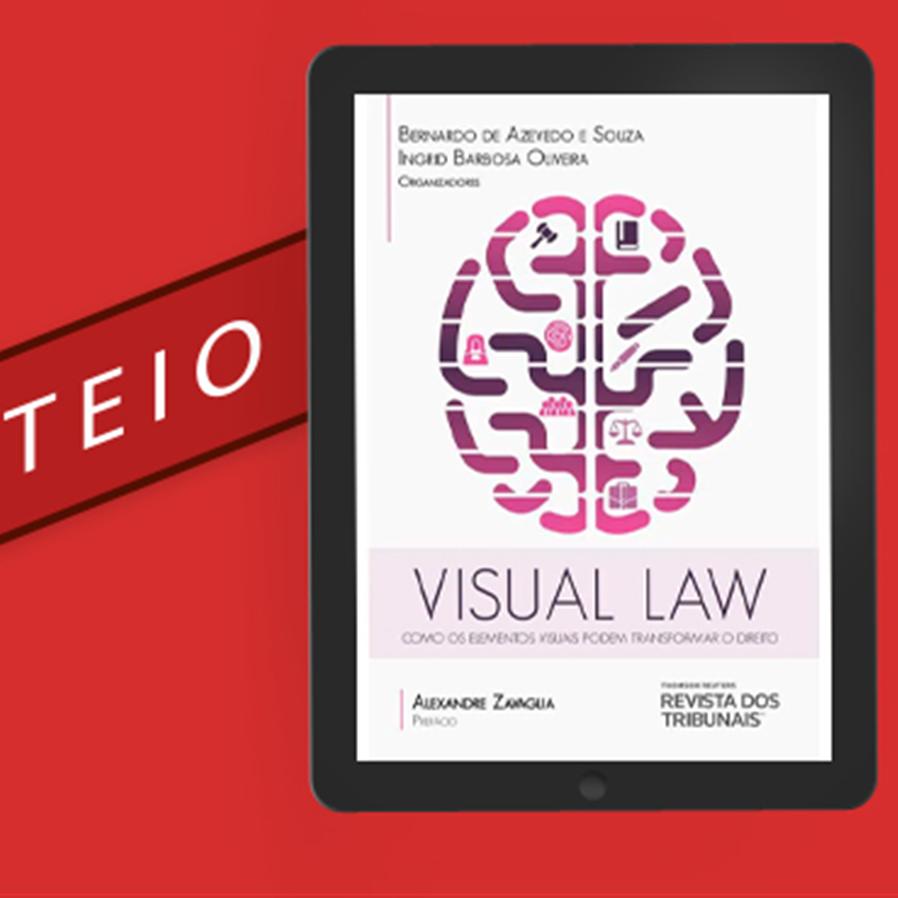 """Resultado do sorteio do e-book """"Visual Law: Como os Elementos Visuais Podem Transformar o Direito"""""""