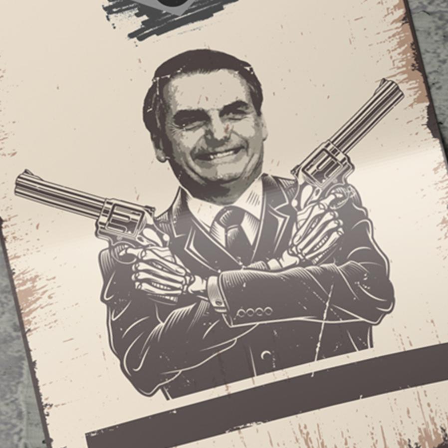 Bolsonaro amplia facilidade para compra e registro de armas