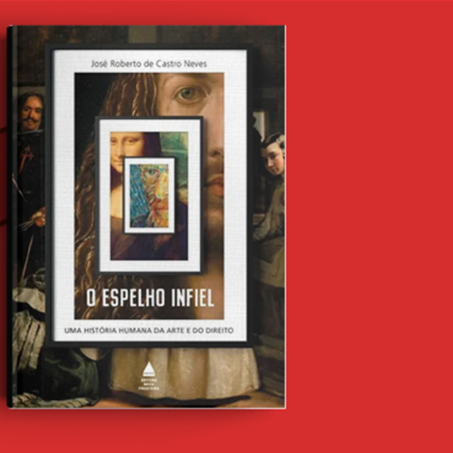 """Resultado do sorteio da obra """"O Espelho Infiel - Uma História Humana da Arte e do Direito"""""""