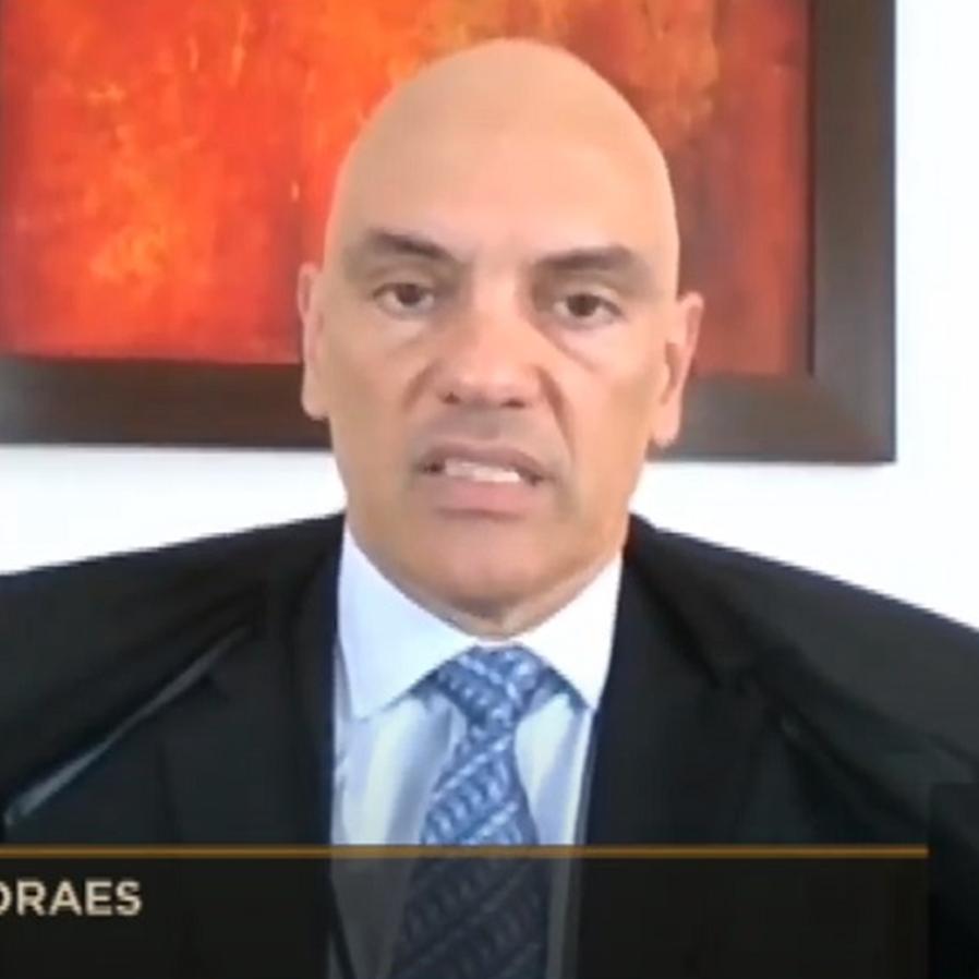"""""""Criminosas e inconsequentes"""", diz Moraes sobre falas de deputado"""