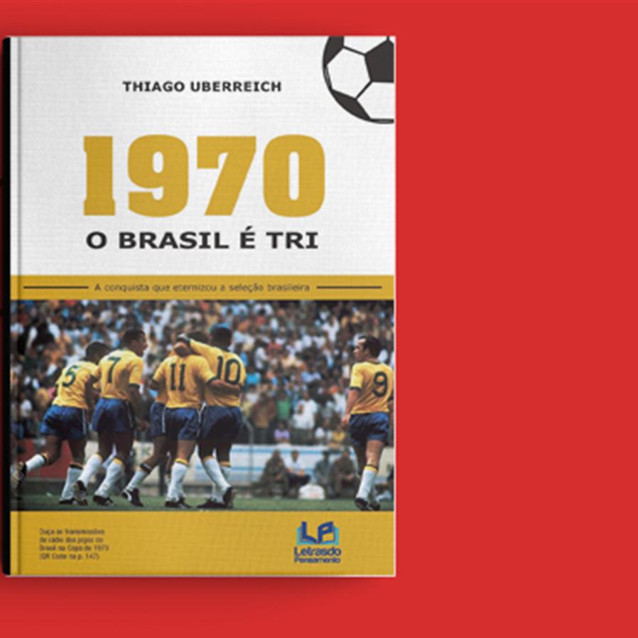 """Resultado do sorteio da obra """"1970 - o Brasil é Tri"""""""