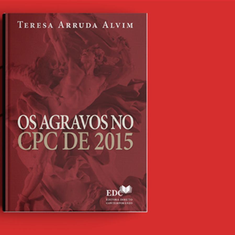 """Resultado do sorteio da obra """"Os Agravos no CPC de 2015"""""""