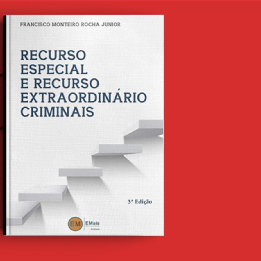 """Resultado do sorteio da obra """"Recurso Especial e Recurso Extraordinário Criminais"""""""