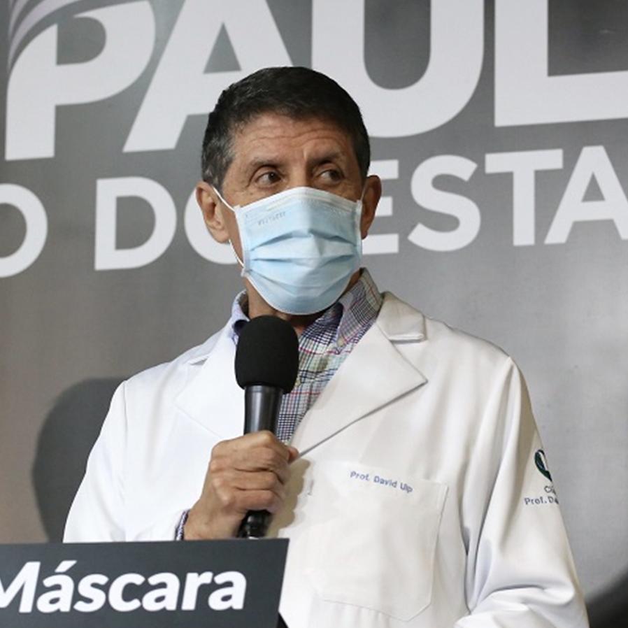 David Uip não aceita acordo com quem vazou sua receita de cloroquina