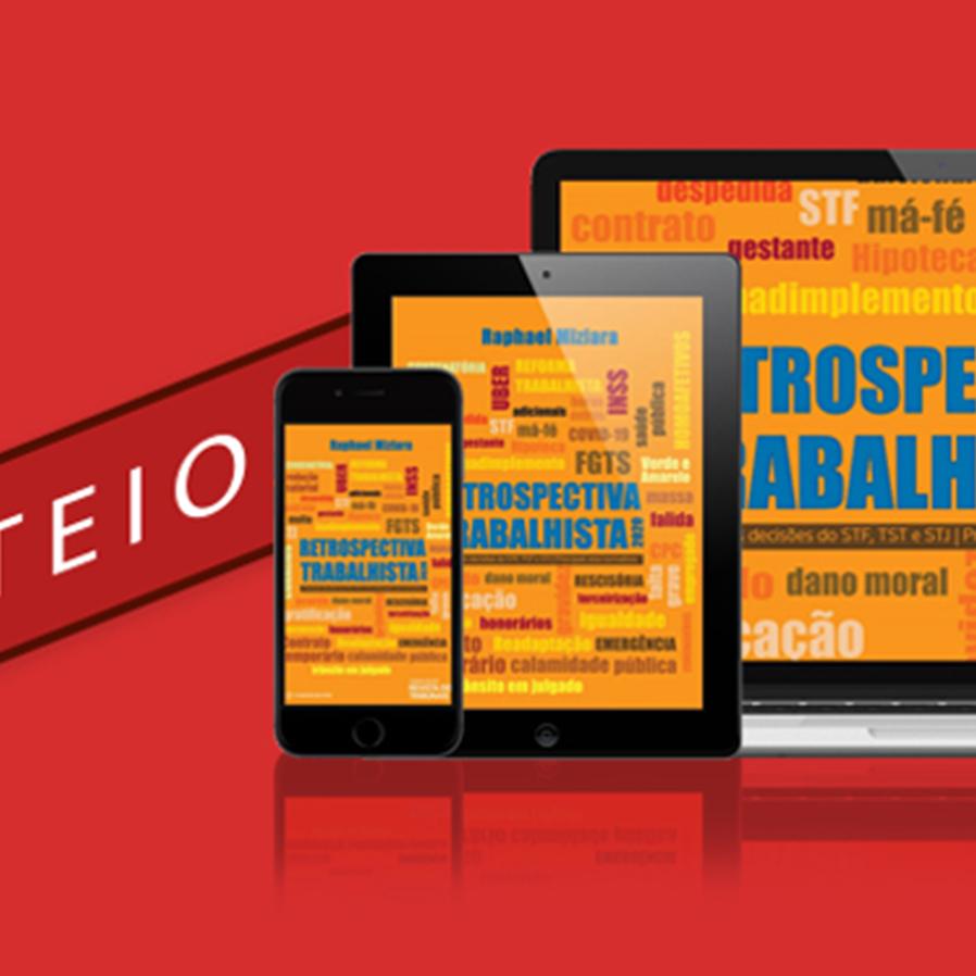 """Resultado do sorteio do e-book """"Retrospectiva Trabalhista 2020"""""""