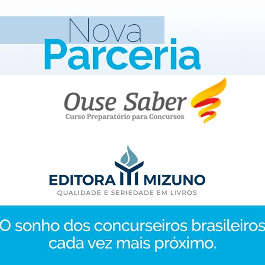 Editora Mizuno anuncia parceria com a Editora Ouse Saber