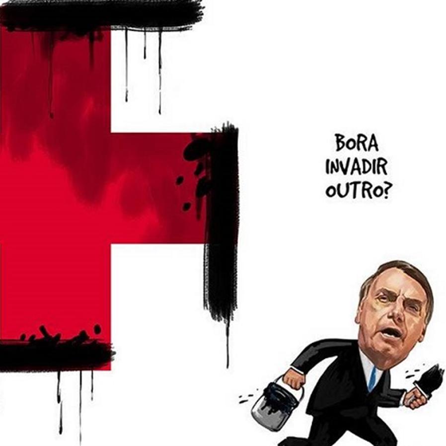 Arquivado inquérito contra Noblat e chargista por crítica a Bolsonaro