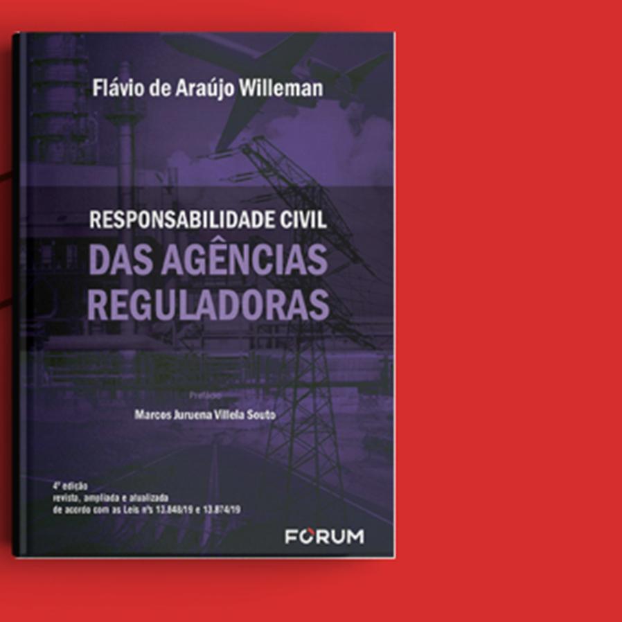 """Resultado do sorteio da obra """"Responsabilidade Civil das Agências Reguladoras"""""""