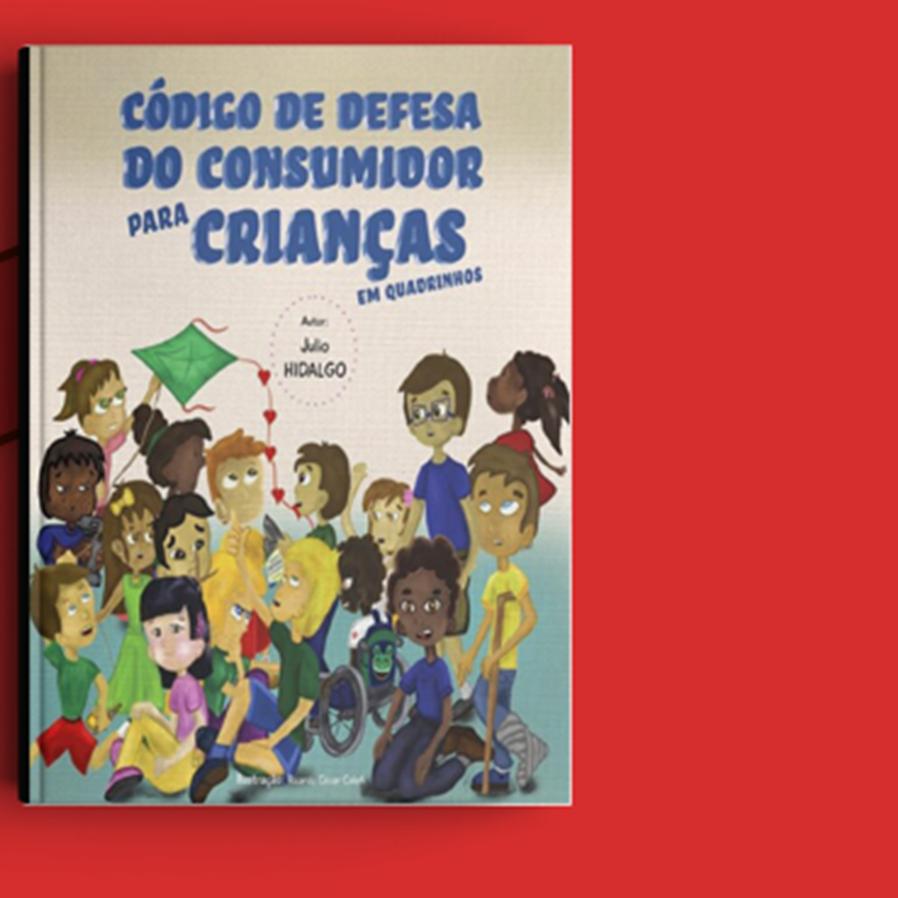 """Resultado do sorteio da obra """"Código de Defesa do Consumidor para Crianças em Quadrinhos"""""""