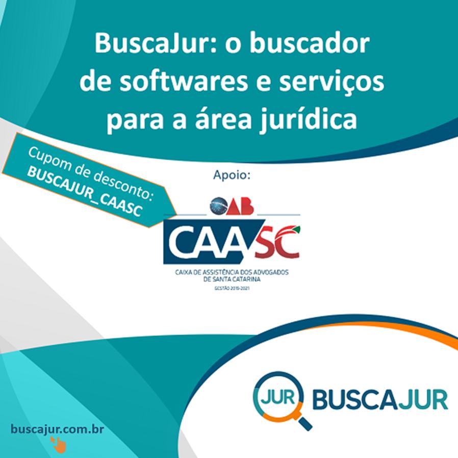 O BuscaJur tem convênio com a CAA SC