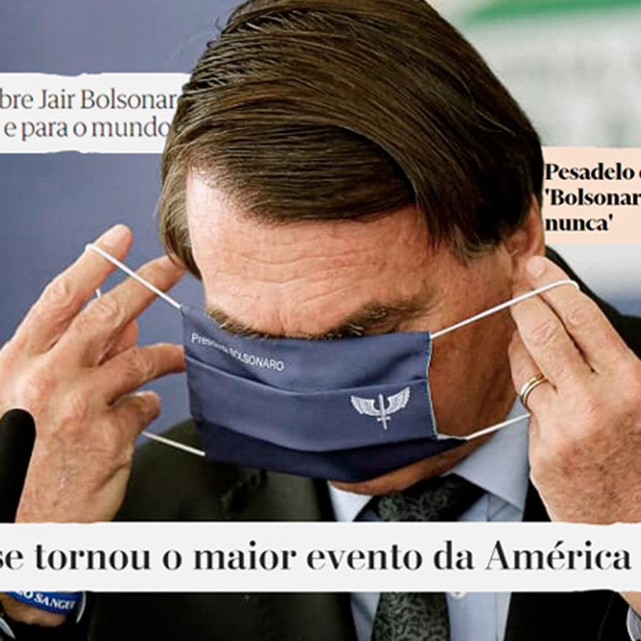 Mídia estrangeira critica atuação de Bolsonaro no controle da pandemia