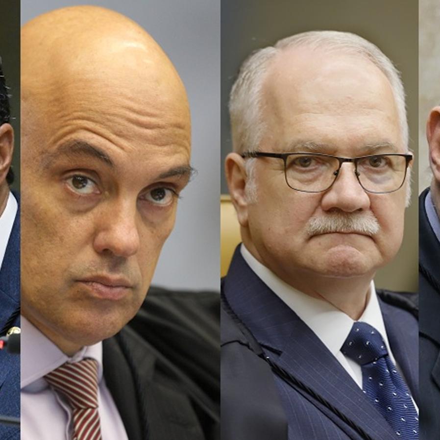 Ministros do STF são alvos de frequentes ataques de Bolsonaro