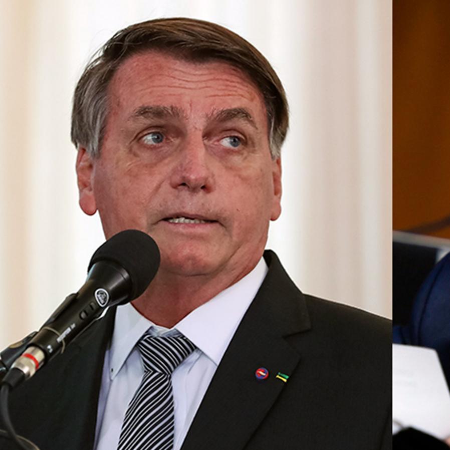 Bolsonaro pede a Kajuru pedido de impeachment contra ministros do STF