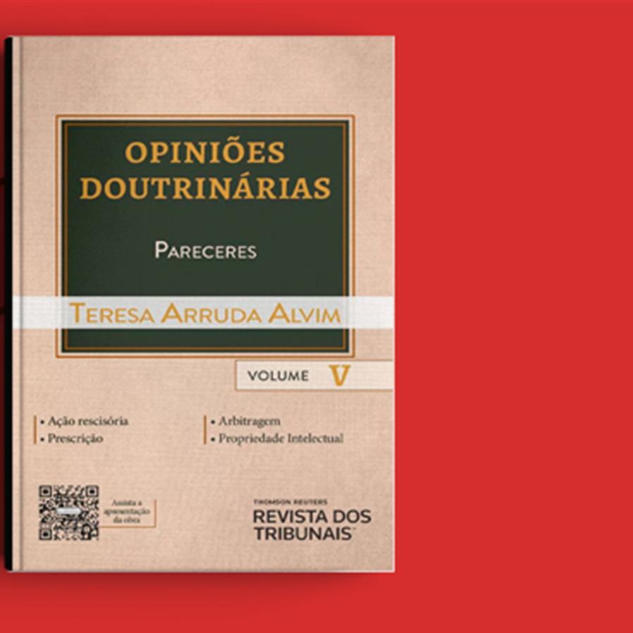 """Resultado do sorteio da obra """"Opiniões Doutrinárias – Pareceres - Volume V"""""""