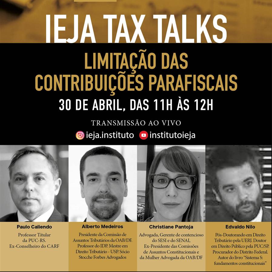 Evento discute limitação das contribuições parafiscais