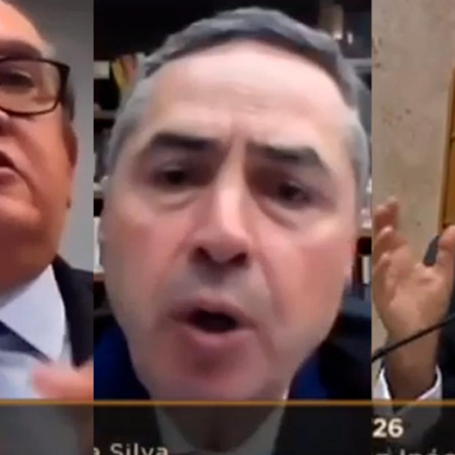 Gilmar e Barroso batem boca e Fux precisa encerrar sessão
