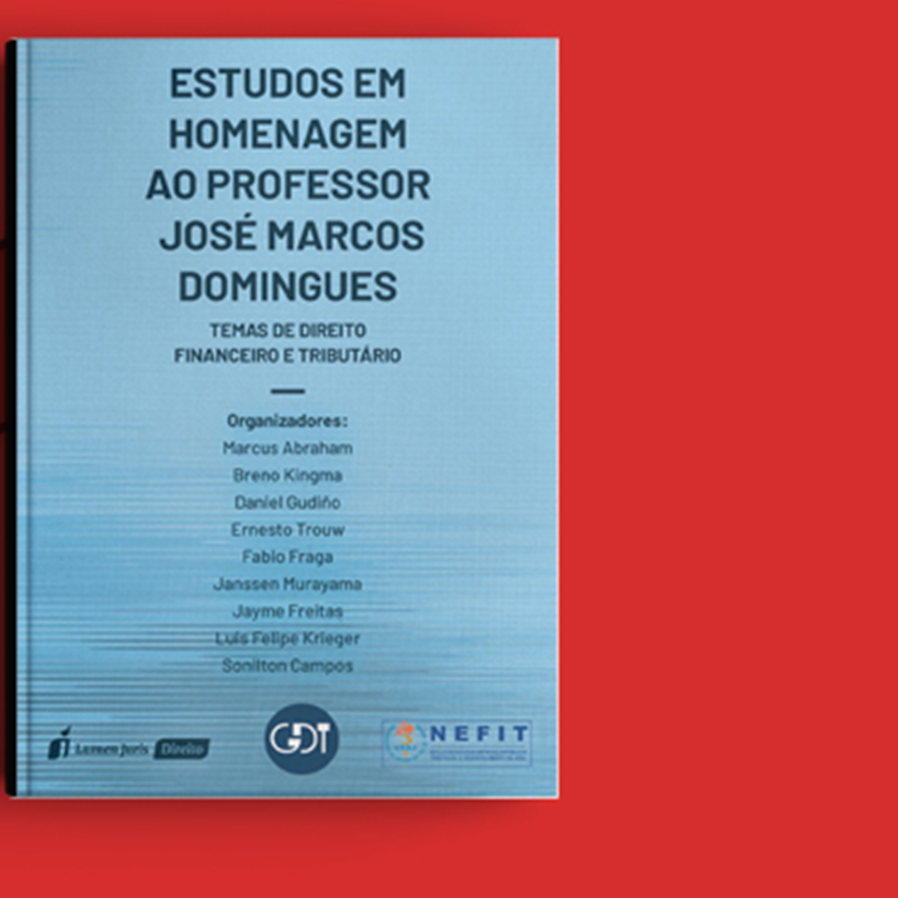 """Sorteio da obra """"Estudos em Homenagem ao Professor José Marcos Domingues"""""""
