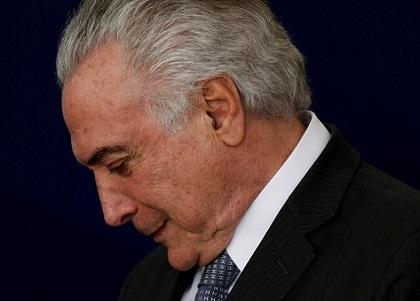 Michel Temer vai renunciar à presidência da República