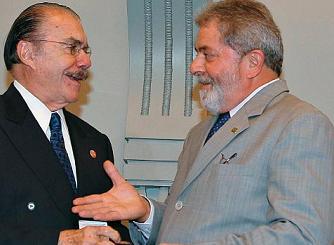 Lula; Sarney; recomendação;