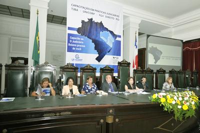 Profissionalização; TJ/BA; Programa de Capacitação; Práticas Judiciárias; Unicorp; FGV DIREITO RIO