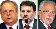 Dirceu, Genoino e Delúbio são transferidos para regime semiaberto