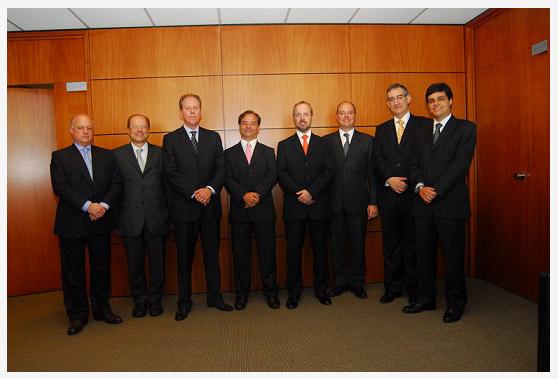 Presidência AASP; AASP; Arystóbulo de Oliveira Freitas; Sérgio Rosenthal;