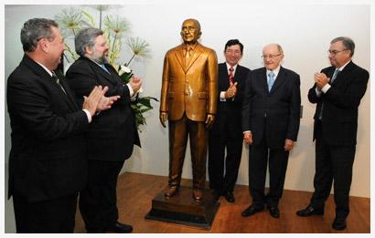 Homenagem; Paulo Bonavides; TJ/CE; Fórum Clovis Bevilacqua; Clovis Bevilacqua; Rômulo Moreira de Deus