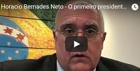 Horacio Bernades Neto é o primeiro presidente brasileiro da IBA