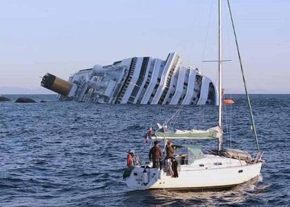 Família a bordo do navio naufragado Costa Concordia receberá R$ 345 mil