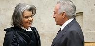 Ministra Cármen Lúcia é a nova presidente do STF