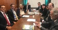 Diretoria do IAB participa de reunião para tratar de mapeamento de projetos de lei