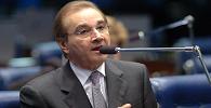 Pedido de vista suspende julgamento de inquérito contra senador Agripino Maia