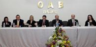 Campanha #ÉdeLei foi lançada na subseção da OAB Bauru