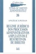 Sorteio; Editora Malheiros Editores Ltda.; Regime Jurídico dos Processos Administrativos Ampliativos e Restritivos de Direito