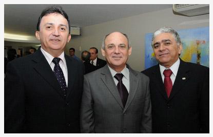TJ/CE; Quinto Constitucional; Francisco Antônio Nogueira Bezerra; Francisco Gladyson Pontes; Josué de Sousa Lima