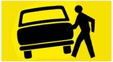 pedestre; atropela carro; veículo; TJ/RS; acidente; danos causados; indenização