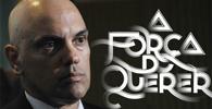 Alexandre de Moraes discute novela com internautas do Twitter