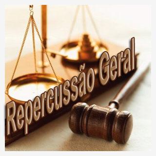 Repercussão geral; Leading cases; Paradigma; Processo; Quantia;